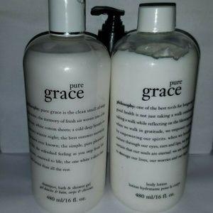 Philosophy Pure Grace Shampoo & Body Emulsion